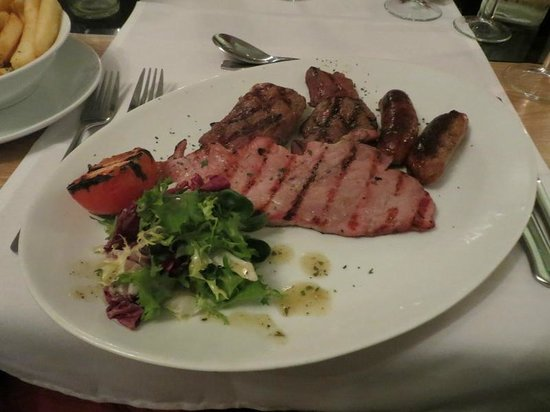 Bentley's Lounge & Grill: Mixed Grill
