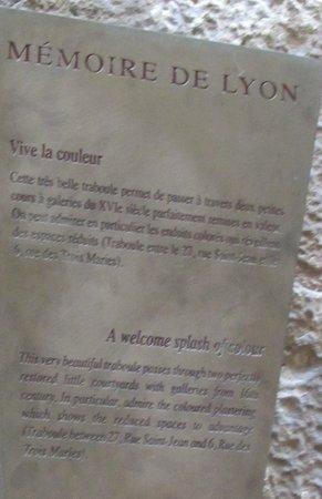 Traboules du Vieux Lyon : Traboules du Vieux