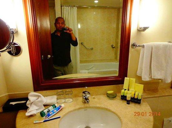 The Accord Metropolitan: bathroom