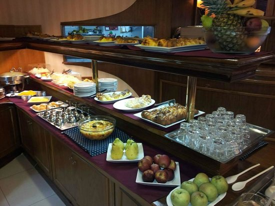 Hotel Remanso: Mais coisas doces no café da manhã