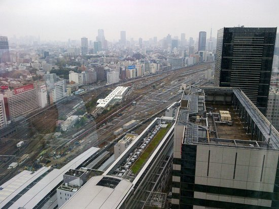 The Strings by InterContinental Tokyo : View from the room.