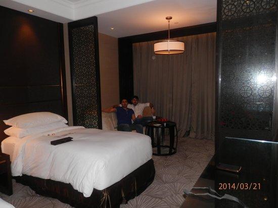 Crowne Plaza New Delhi Mayur Vihar Noida : Me & My Brother's room