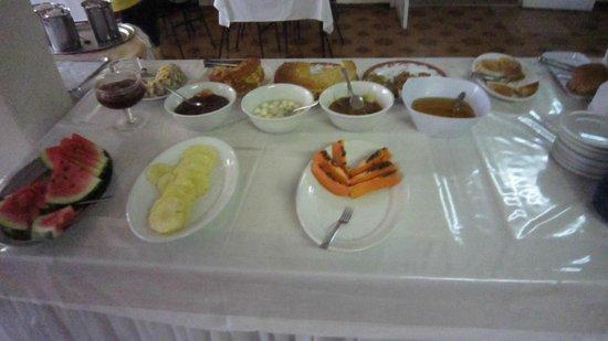 Iguacu Plaza Hotel: Café da Manhã