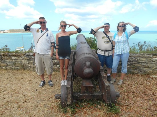 Segway Antigua Tours : Fun at the Fort