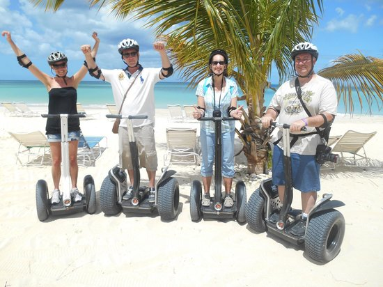 Segway Antigua Tours : We conquered the segways!
