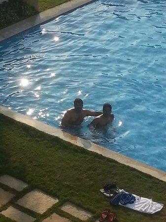Greenwood Meadows: Friends in Pool