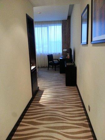 Cristal Hotel Abu Dhabi : Entry