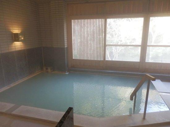 Hakone Auberge Ren: 大涌谷の温泉を引いた大浴場