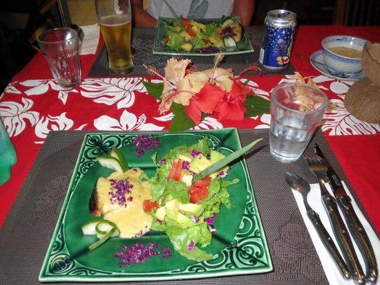 Fare Vaihere: 夕食一皿目