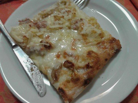 La Carmencita: pizza alla Gianluca