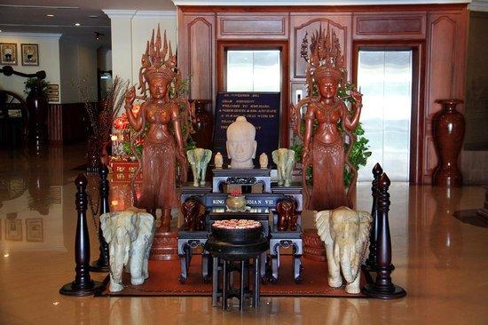 Khemara Angkor Hotel & Spa: Лобби