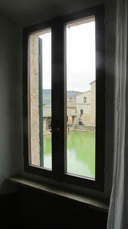 Albergo Le Terme : camera con vista