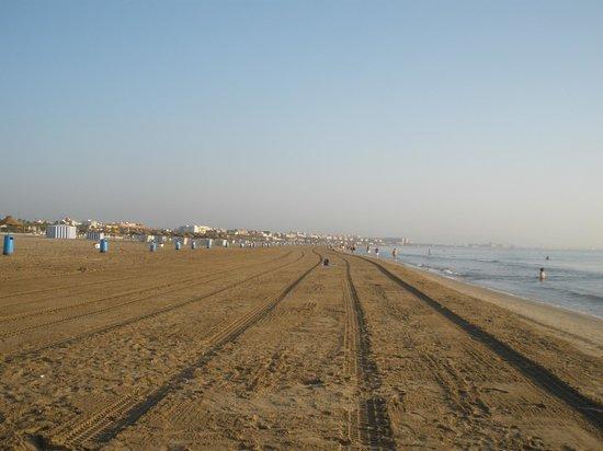 Miramar : Пляж утром