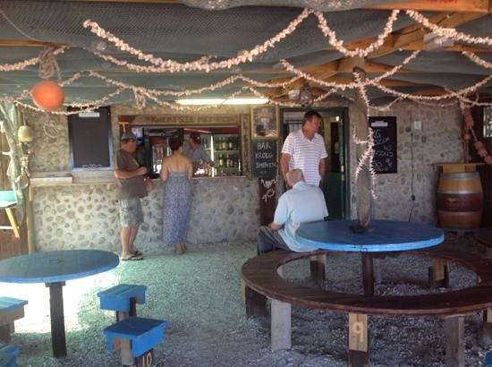 Seekombuis: Inside the Restaurant