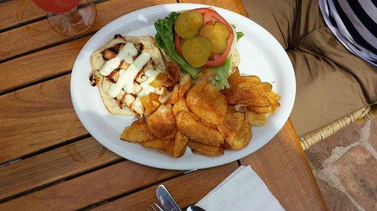 Castaway Cafe: Castaway Grilled Chicken Sandwich