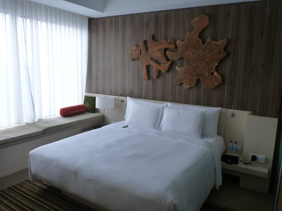 Oasia Hotel Novena, Singapore by Far East Hospitality: Very comfortable bed