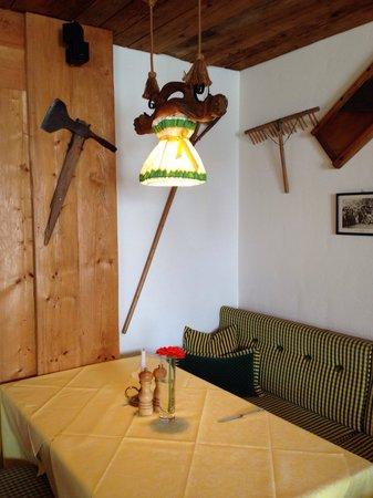Hotel Goldener Berg: Dining area