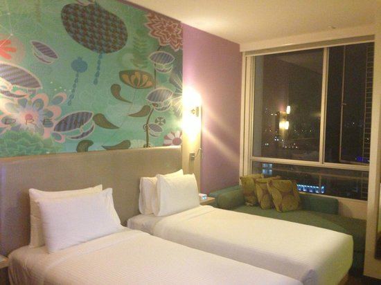 ibis Styles Kuala Lumpur Fraser Business Park: Twin-share City View Room