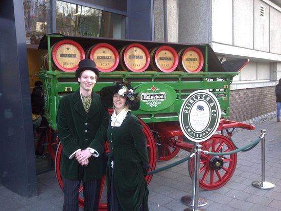 At the Gate of Heineken Experience