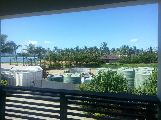 Hilton Fiji Beach Resort & Spa: View from 1 bedroom balcony