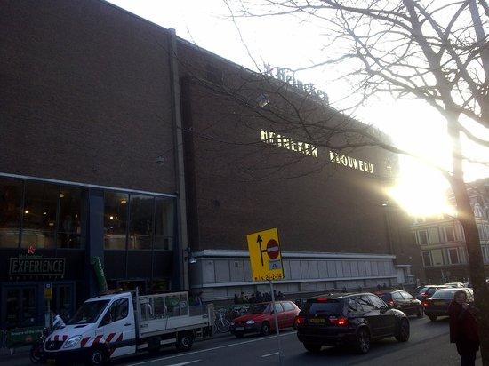 Heineken Experience: Heineken Brewery Building from outside