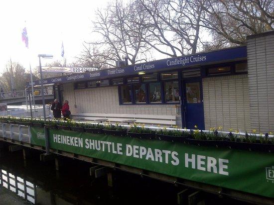 Heineken Experience: Heineken Boat Boarding Area