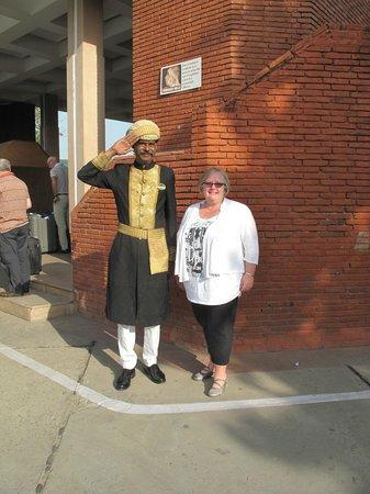 ITC Mughal, Agra: Very nice doorman