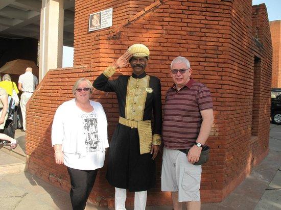 ITC Mughal, Agra: Nice doorman