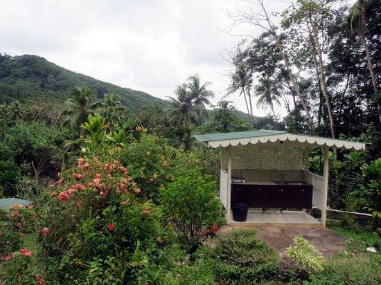 Pension Te Maeva : ペンション台所