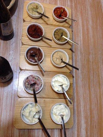 La Tigella: Salsine