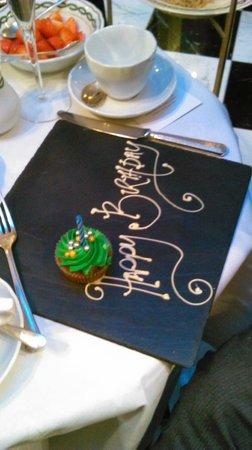A birthday treat! Afternoon tea at the Milestone Hotel