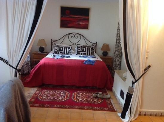 Riad Dar Maktoub : notre chambre