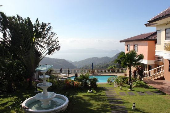 Villa Marinelli Bed and Breakfast : Our view during our morning breakfast