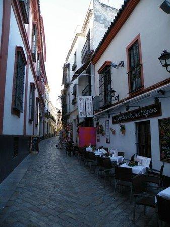 El Rey Moro Hotel Boutique Sevilla: Hotel Restaurant