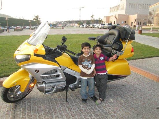Katara Cultural Village: Heavy Bike