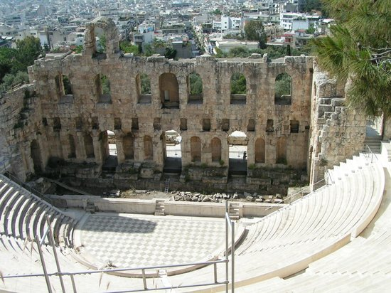 Acrópolis: Древний амфитеатр