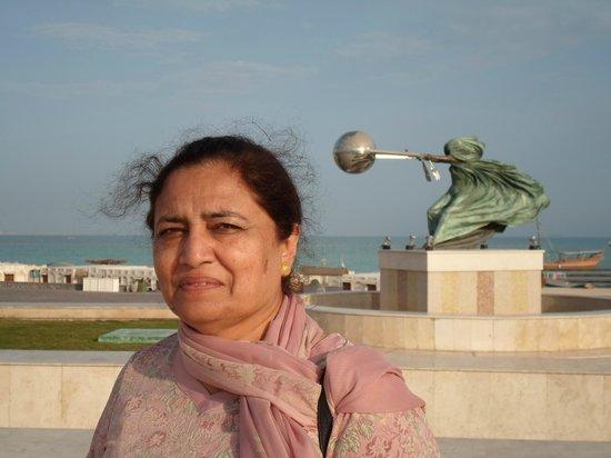 Katara Cultural Village: Showing Speed of Light