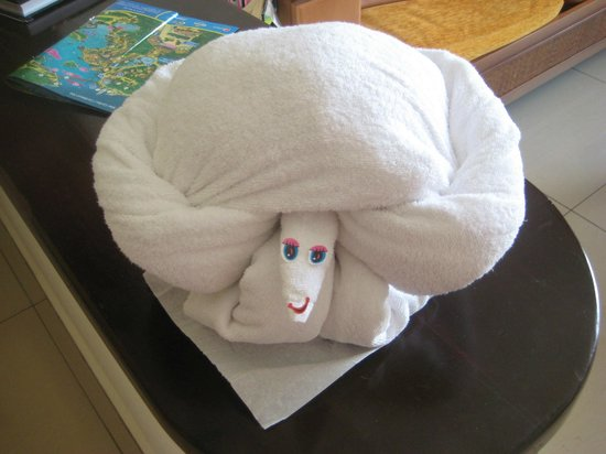 Grand Sirenis Mayan Beach Resort & Spa: Towel art.....