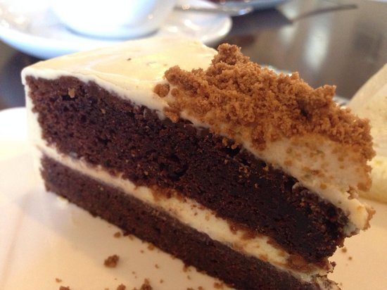 Lolamui Cafe: Dark beer cake