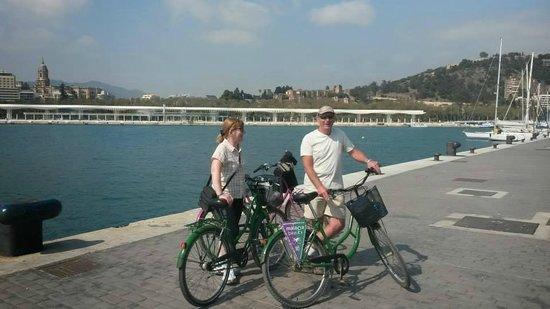 Malaga Bike Tours by Kay Farrell: Malaga Marina