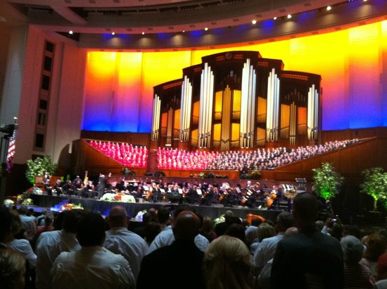 LDS Conference Center: Mormon Tabanacle Choir