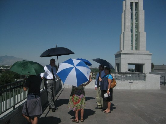 LDS Conference Center: Rooftop of LDS Center