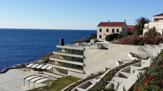 Rixos Hotel Libertas: right view from room balcony