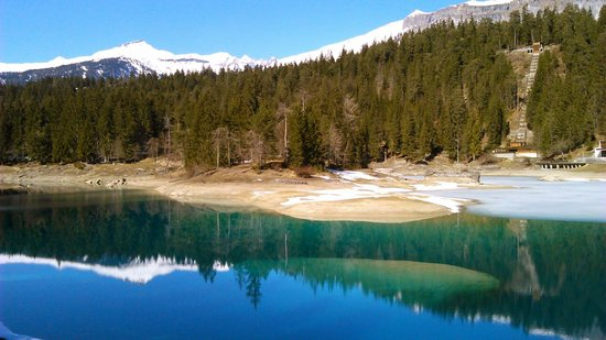 Caumasee in March