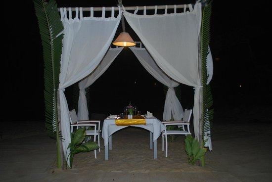Soleil d'Asie Residence : sur la plage le soir