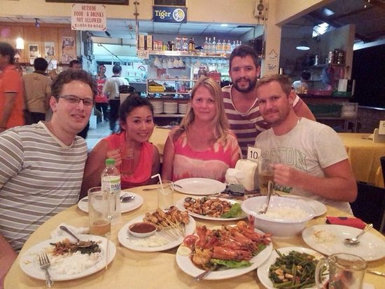 Orkid Ria Seafood Restaurant : Great food!!