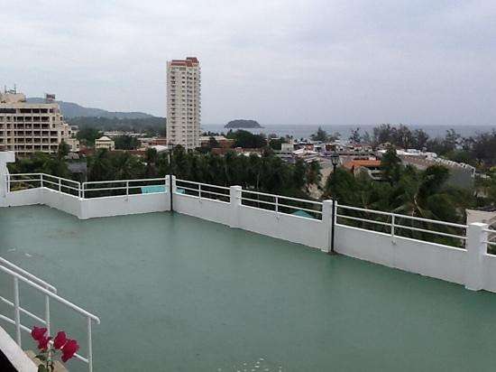 BEST WESTERN Phuket Ocean Resort: utsikt från rummet