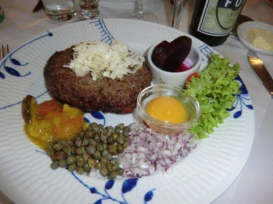 Restaurant Amalie : Pariserbiff
