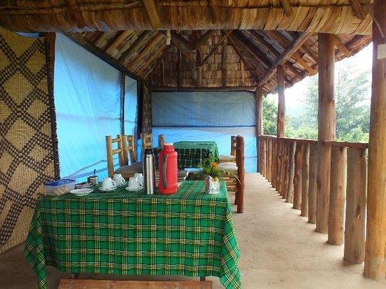 Broadbill Forest Camp : Restaurant area