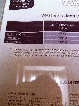 Appart'City Confort Marne la Vallee - Val d'Europe: Les prix...
